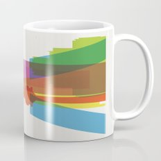 Shapes of Madrid. Accurate to scale. Mug