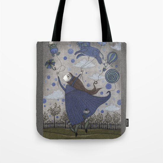 Violetta Dreaming Tote Bag