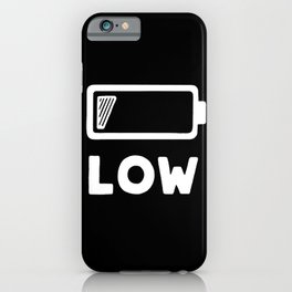 Low battery #2 iPhone Case