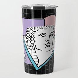 Apollo Vaporwave / greek god Travel Mug