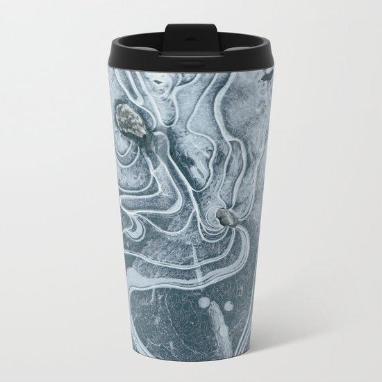 Frozen Marble Metal Travel Mug