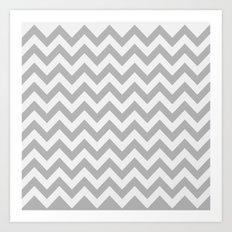 Chevron #3 Art Print