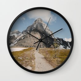 Larch Valley Trail Wall Clock
