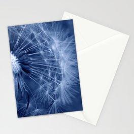 blue dandelion II Stationery Cards