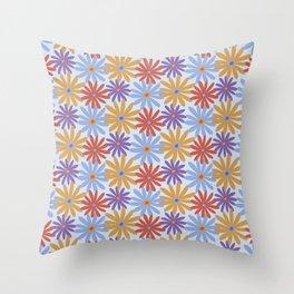 Daiseez-Sunset Colors Throw Pillow