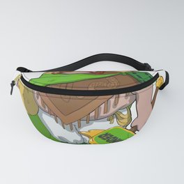 Duolingo Character imaginged Fanny Pack