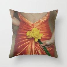 fleurs de printemps Throw Pillow