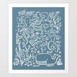 sealife  Art Print
