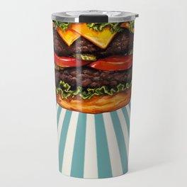Cheeseburger - Double Travel Mug