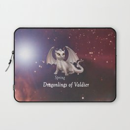 Dragonling in Space - Spring Laptop Sleeve