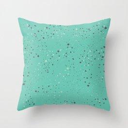 2019 teal #1 Throw Pillow