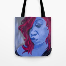 Blueberry Mary Tote Bag