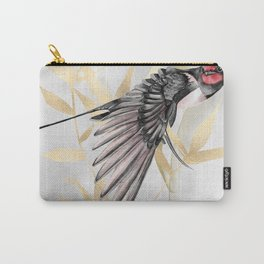 Japanese swallow and bamboo. Freedom. Carry-All Pouch