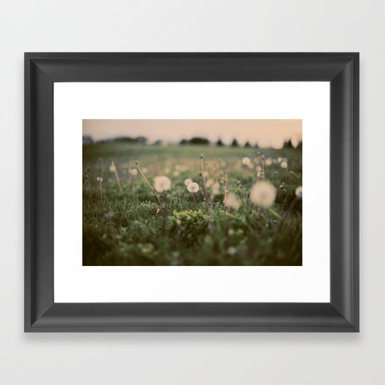 Forgotten Wishes Framed Art Print