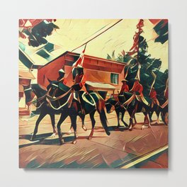 Canada Day Procession Metal Print