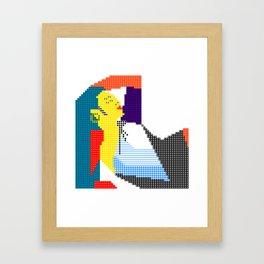 gj lunghi - acapulco nights Framed Art Print
