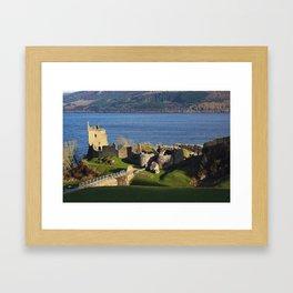 Urquhart Castle - Scotland Framed Art Print