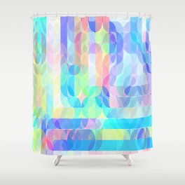 Re-Created Laurels II by Robert S. Lee Shower Curtain