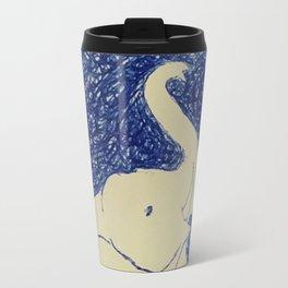 Elephant Doodle # 2 Travel Mug