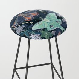 Luna Moth Bar Stool