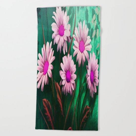 Mythical SunFlowers Beach Towel