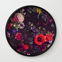 Astro Garden Wall Clock