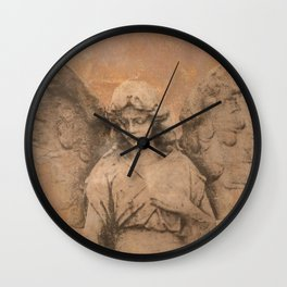 Rustic Angel Lady Woman Spiritual Home Decor Religious Art A322b Wall Clock