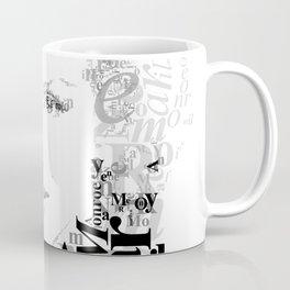 Typographic image Monroe Coffee Mug