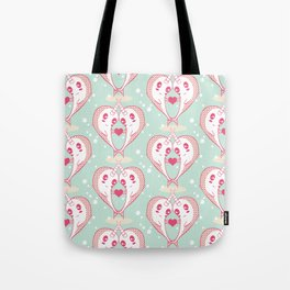 Narwhals in Love Tote Bag