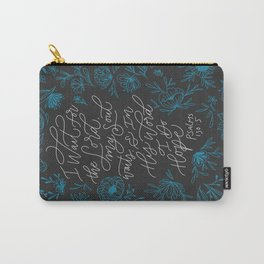 My Soul Waits Carry-All Pouch
