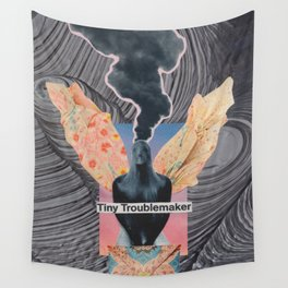 Tiny Troublemaker Wall Tapestry