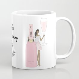 Rose Champagne - Dark Skin Tone Coffee Mug