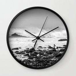 Stella in Montauk Wall Clock