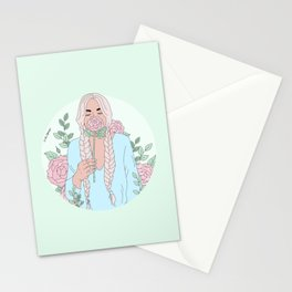 Stop And Smell The Roses Stationery Cards