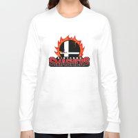 nintendo Long Sleeve T-shirts featuring Nintendo Smashers by Alecxps