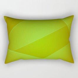 Olive, Lima & Limeade Colors Rectangular Pillow