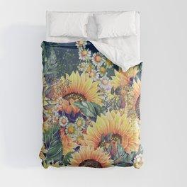 Summer Garden 1 Comforters