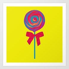 Bittersweet Candy Art Print