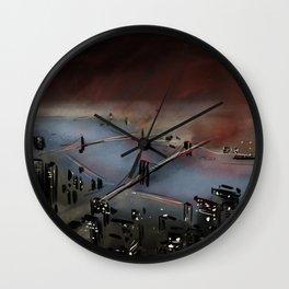East River Wall Clock
