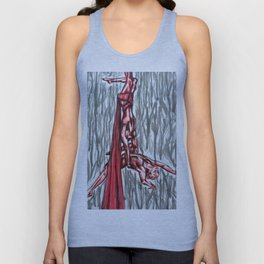 Wrapped with each other Unisex Tank Top