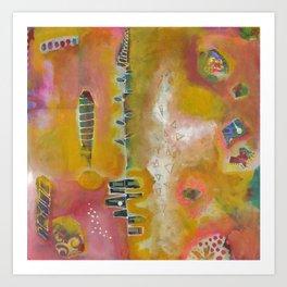Sunny Disposition Art Print