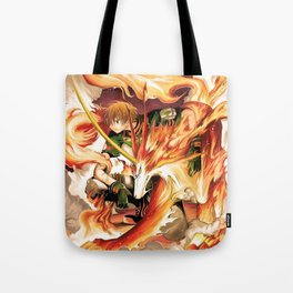Tsubasa and Kudan fan art Tote Bag