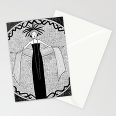 let the love that was once a fire remain an ember Stationery Cards