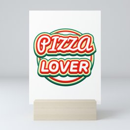 Pizza Lover Mini Art Print