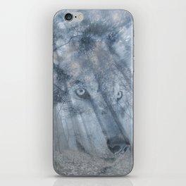 Wolf Spirit  iPhone Skin