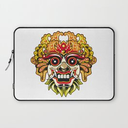 leak bali mask vector chiefs face Laptop Sleeve