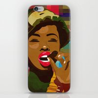 army iPhone & iPod Skins featuring Army Fatigue by Original Bliss