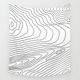Topographic #440 Wall Tapestry
