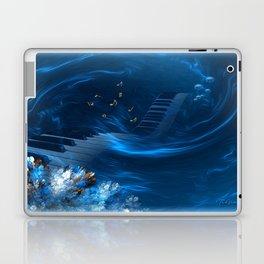 Blue coral melody  Laptop & iPad Skin