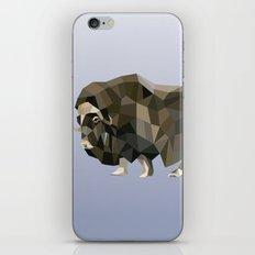 Geometric Yak iPhone & iPod Skin